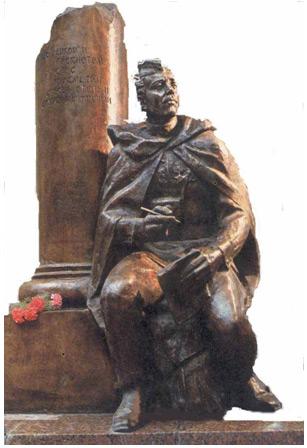 Памятник журналистам Великой Отечественной войны
